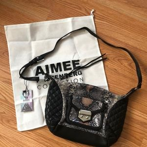 NWT Aimee Kestenberg Crossbody Leather Bag